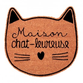 Paillasson chat