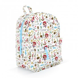 Pirate patterned backpack by Isabelle Kessedjian