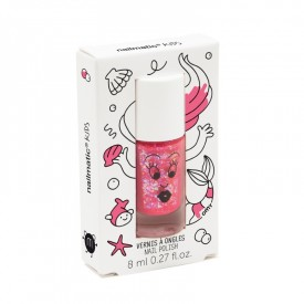 Nail varnish: Glittery pink by Nailmatic Kids