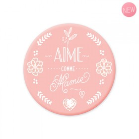 Pink magnet 'Aime comme Mamie'