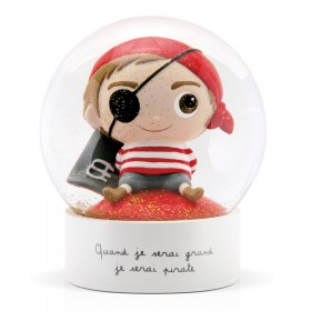 Snow globe Pirate