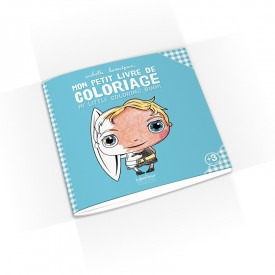 My little coloring book by Isabelle Kessedjian