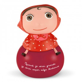 Girl Money box by Isabelle Kessedjian