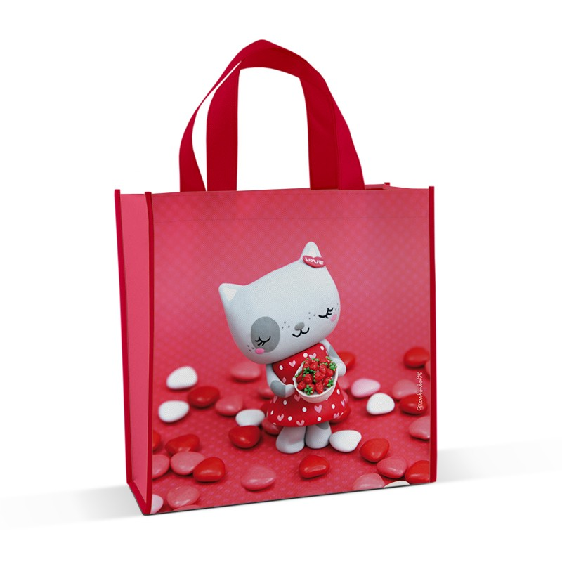 Shopping bag Fraisinette by Missbonbon