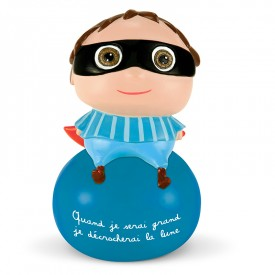 Boy Money box by Isabelle Kessedjian