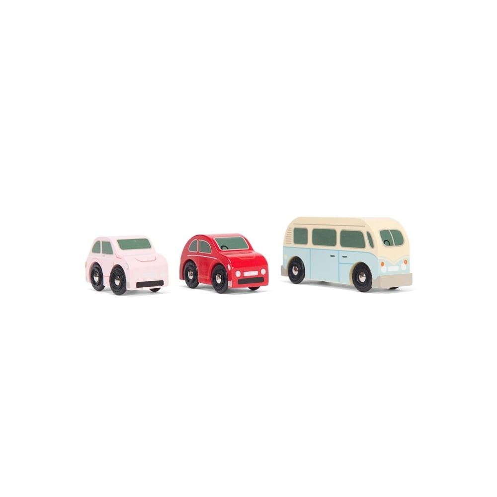 Retro metro car set by Le toy van