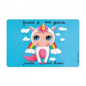 Placemat Unicorn